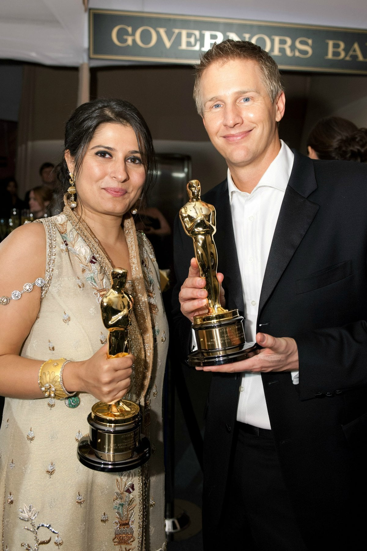 Sharmeen Obaid-Chinoy at the Oscars 2012