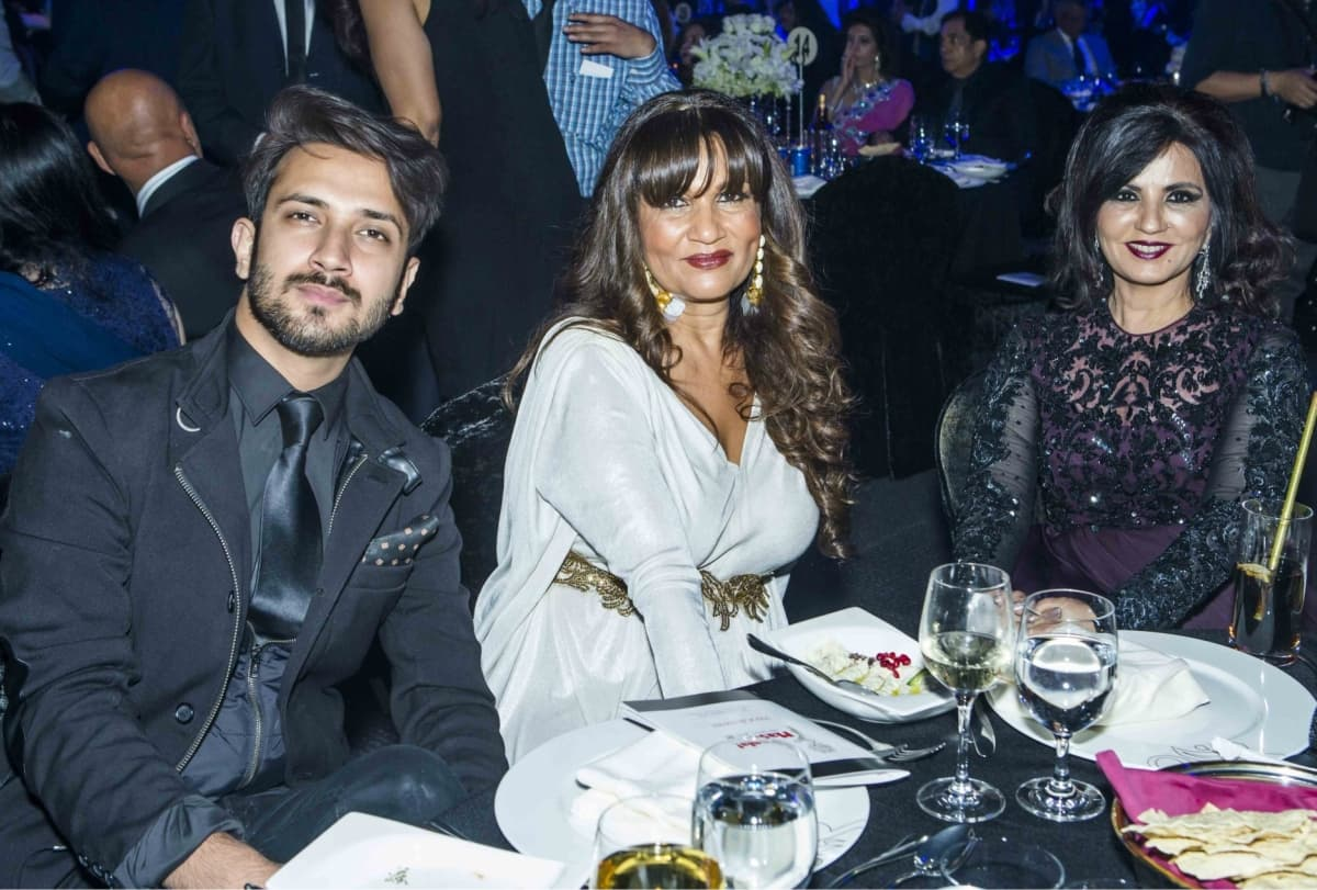 Frieha Altaf at this year's Masala! Awards held last week