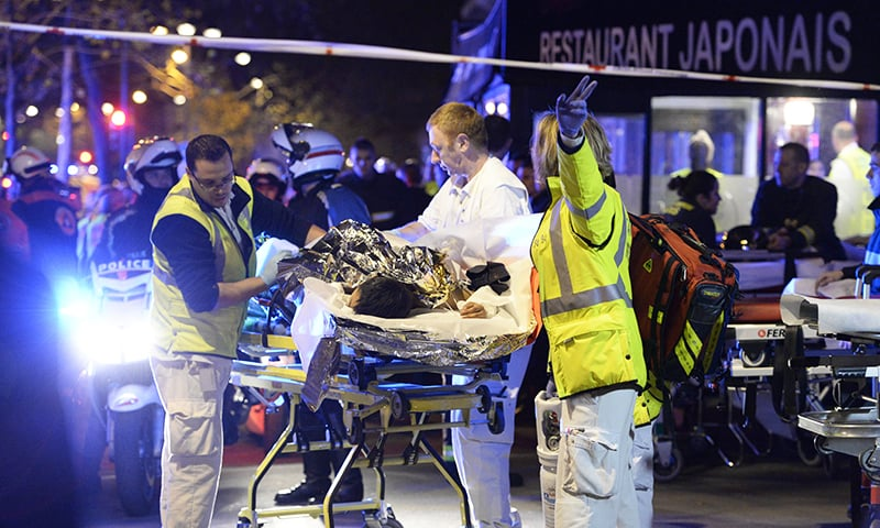 At least 128 dead in Paris terror attacks, IS claims responsibility