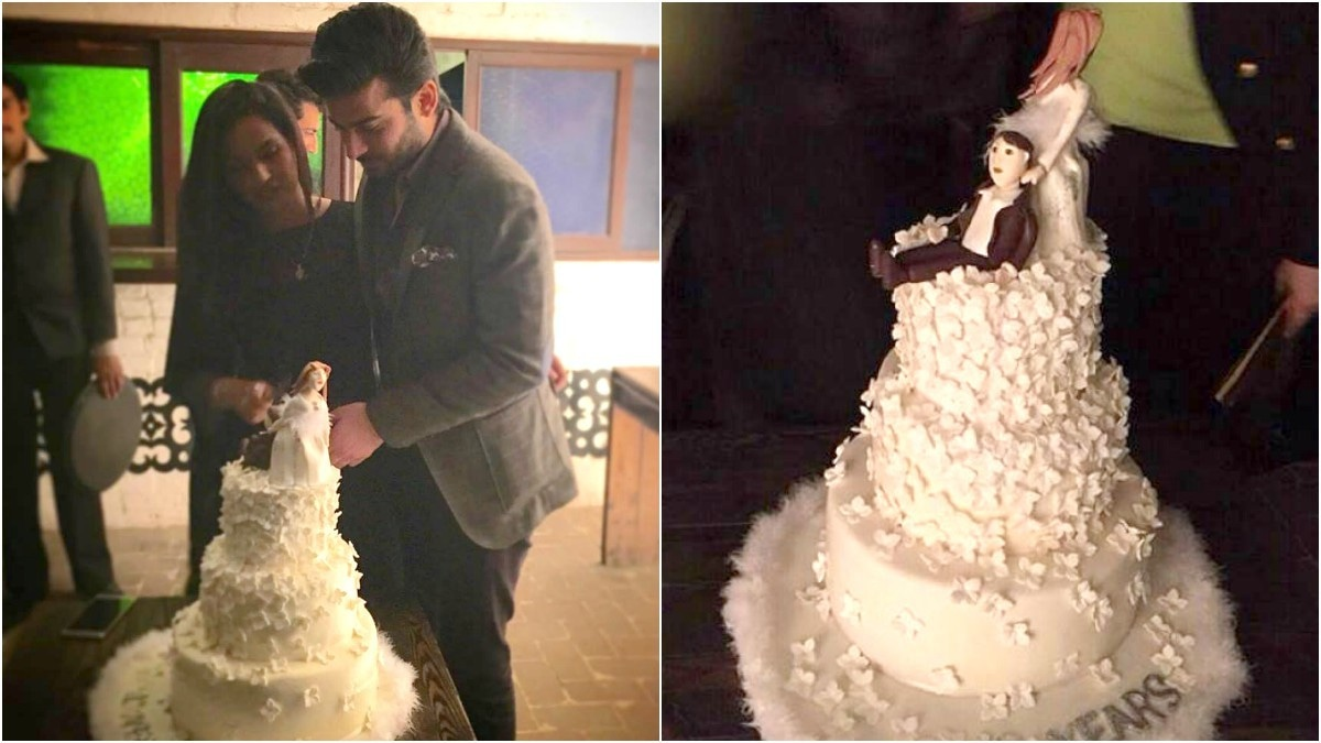 Mr. and Mrs. Fawad Khan celebrate a decade of marital bliss