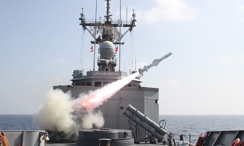 Navy test fires anti-ship guided missiles with pinpoint accuracy