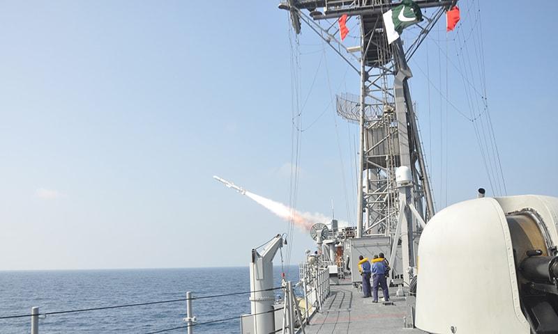 Successful conduct of missile firings is manifestation of PN's optimum operational preparedness. —PN