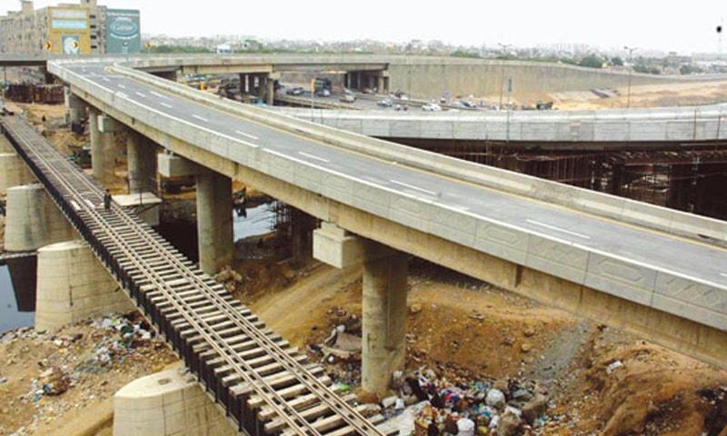 Lyari Expressway  under construction