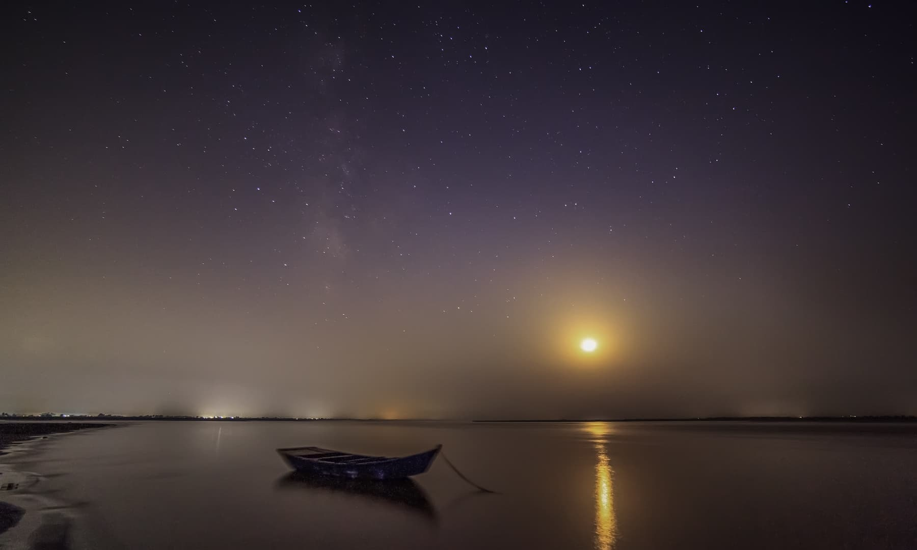 River Chenab at Night Source: reddit