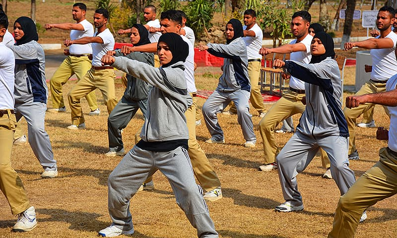Fight like a girl: How the Punjab police is breaking