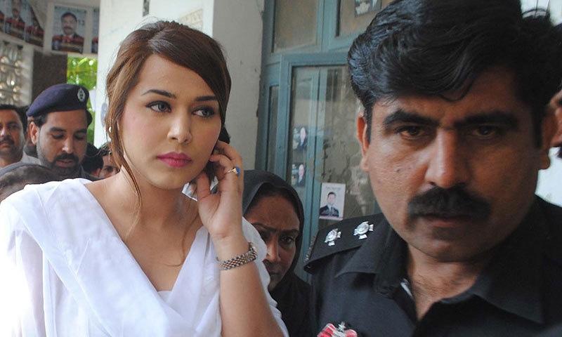 ملزمہ ایان علی نے صحت جرم سے انکار کر دیا...فائل فوٹو: آئی این پی