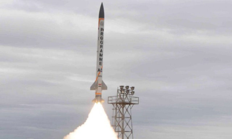 India tests upgraded interceptor missile