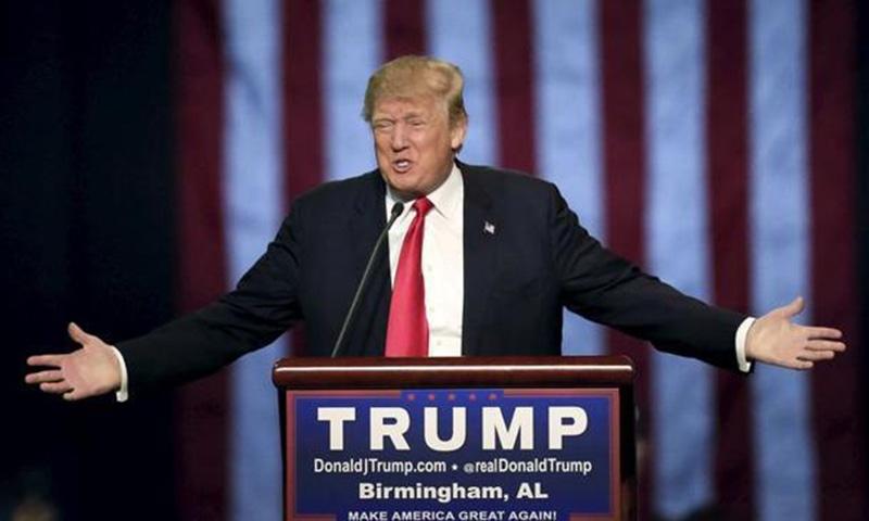 امریکا میں ریپبلکن پارٹی کے صدارتی امیدوار ڈونلڈ ٹرمپ—۔فائل فوٹو/ رائٹرز