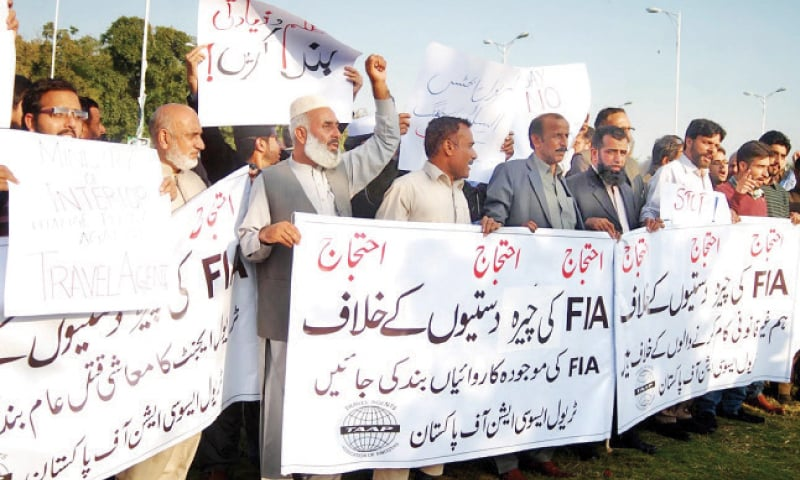 Travel agents accuse FIA of harassment