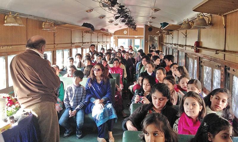 TCKP organises safari train tour to Attock Khurd