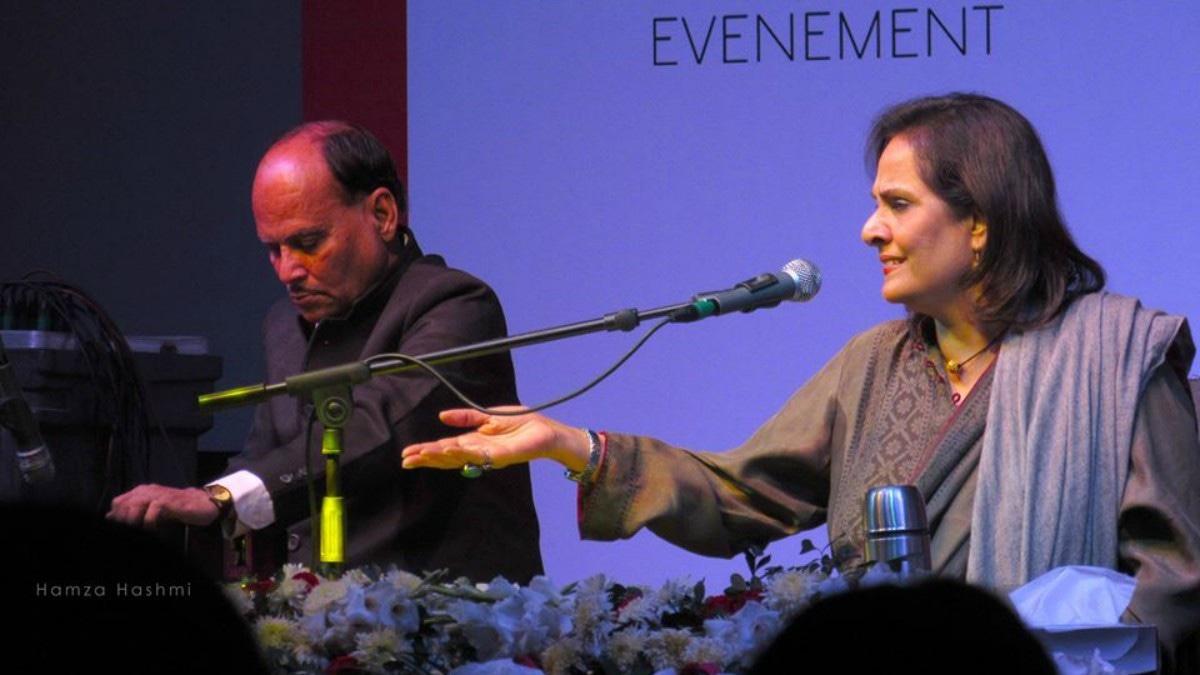 The legendary Tina Sani performed at the festival. —Photo courtesy: Hamza Hashmi