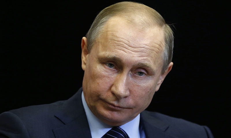 President Vladimir Putin insisted that a Russian warplane shot down by a Turkish jet was flying over Syrian territory and did not pose any threat to Turkey. -AFP