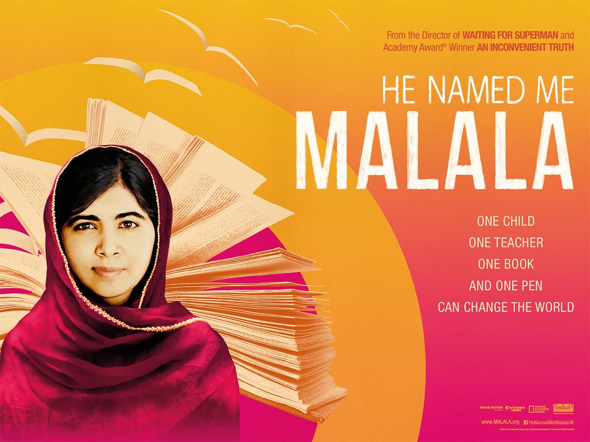 He Named Me Malala is now playing at cinemas in Pakistan