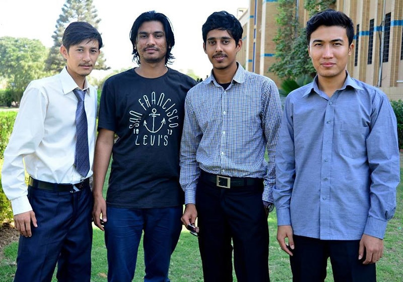 GesDrive' S. Saghir Hussain with his team.