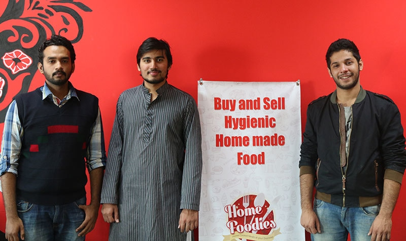 Home Foodies: Rana Waleed Asmat with co-founder Adeel Nur.