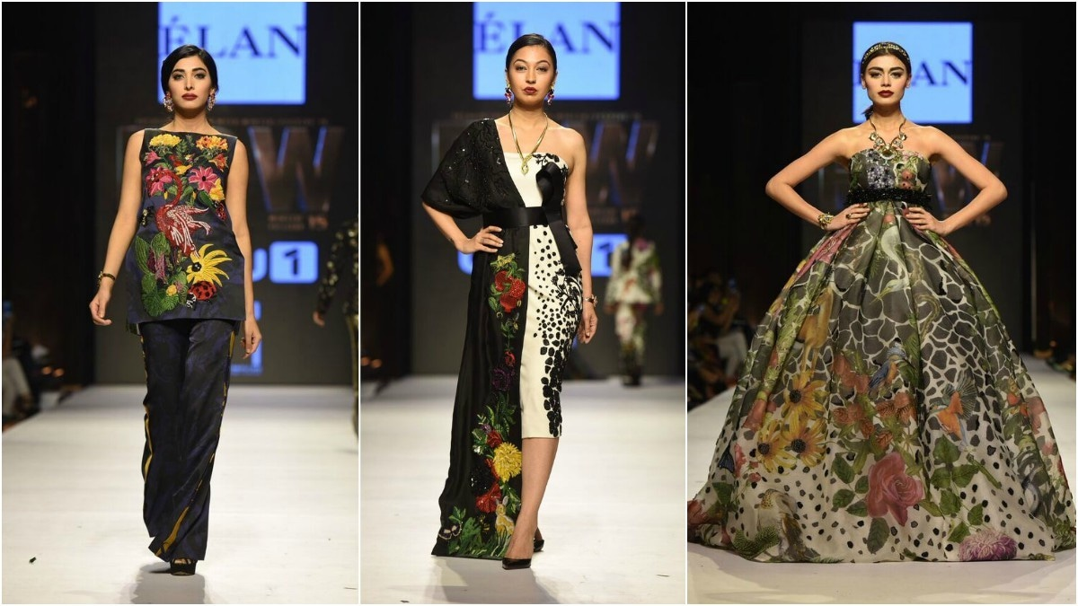Khadija Shah's fashion jungle was on point