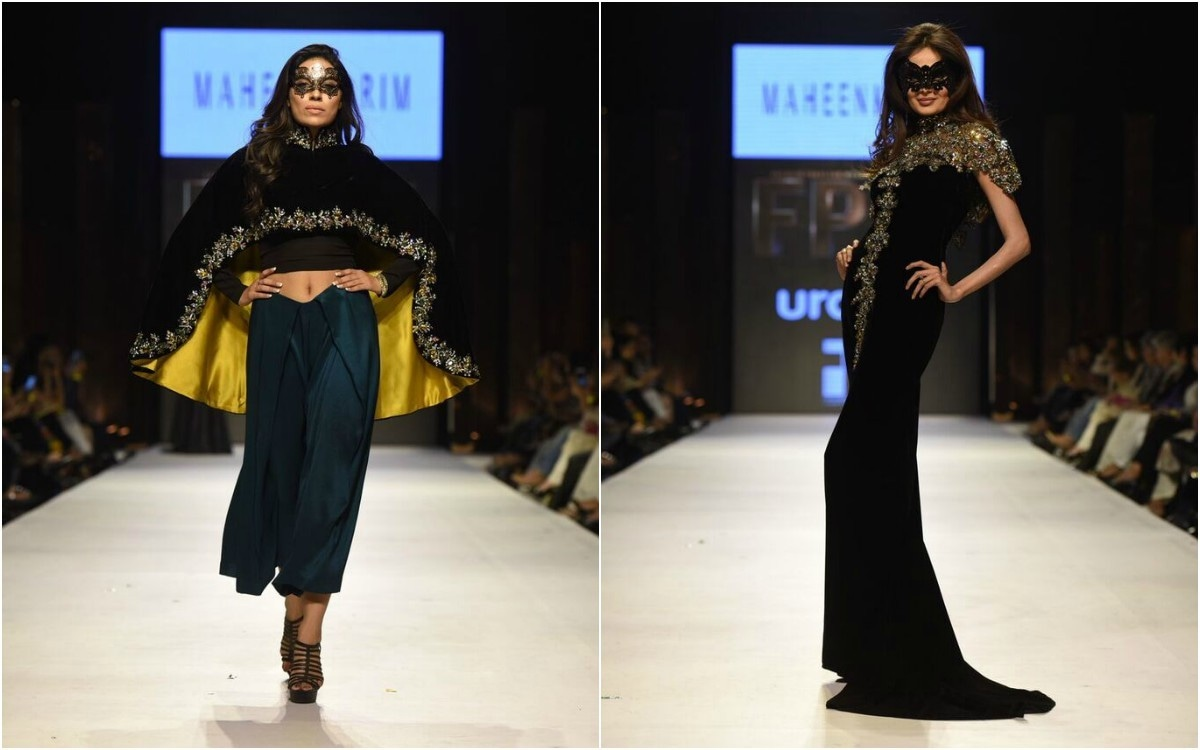 Mehreen Syed ruled the ramp in this slinky number