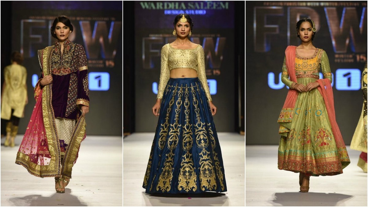 Saleem's embroidery was neat and chic