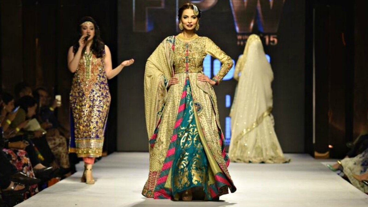 This outfit worn by Fouzia Aman wasn't cohesive enough to hit the mark