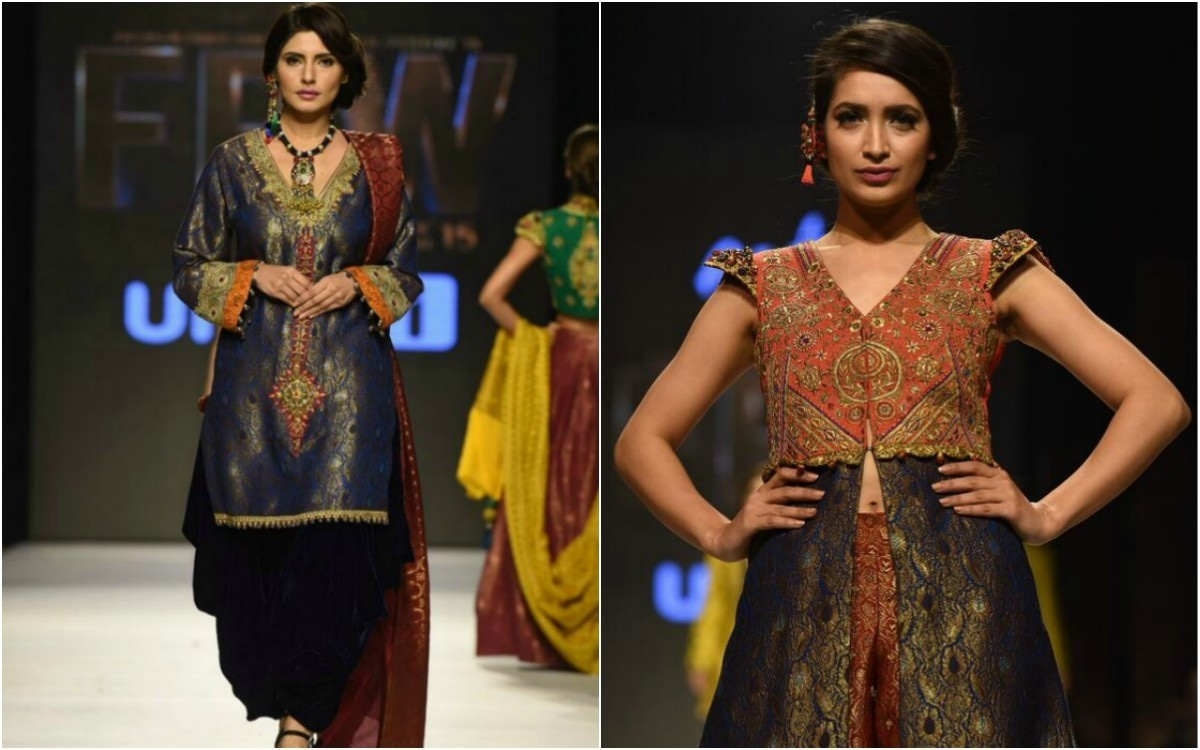 Thankfully, shalwars are reappearing on the runway