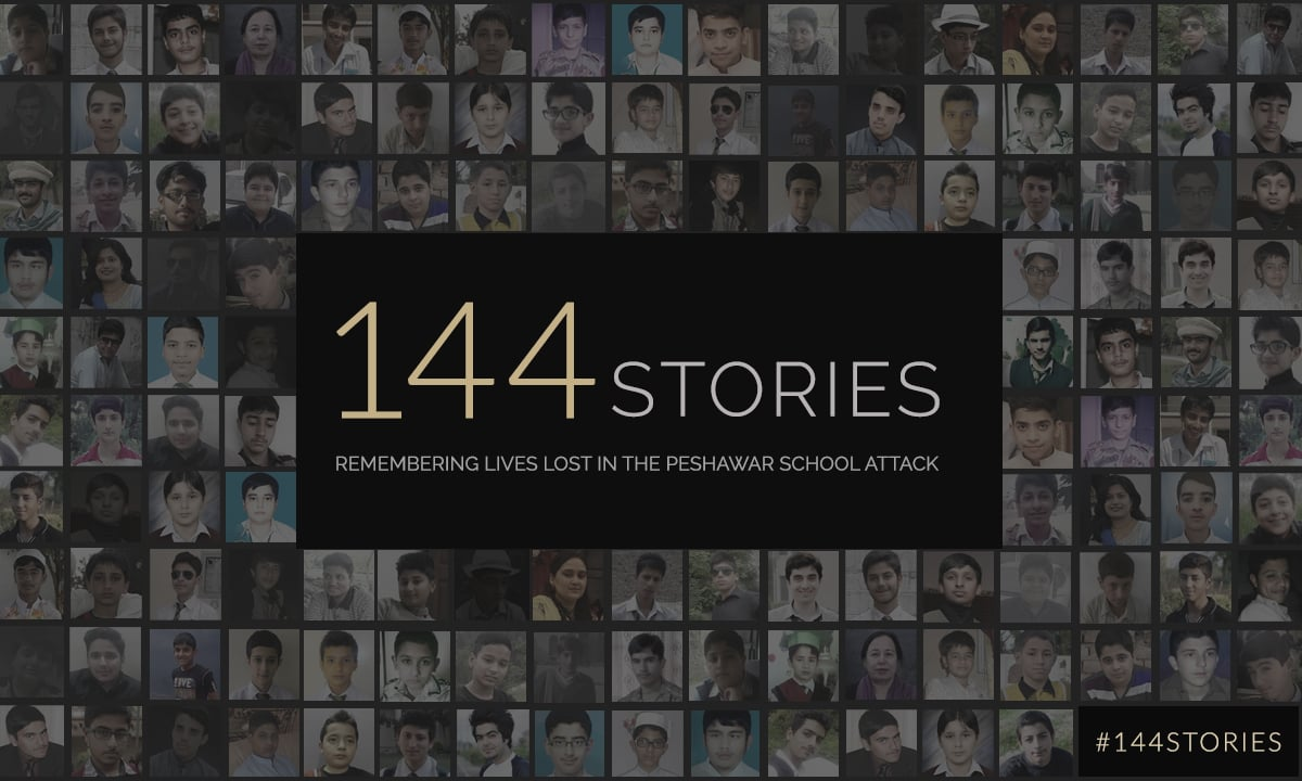 Remembering lives lost in the Peshawar school attack