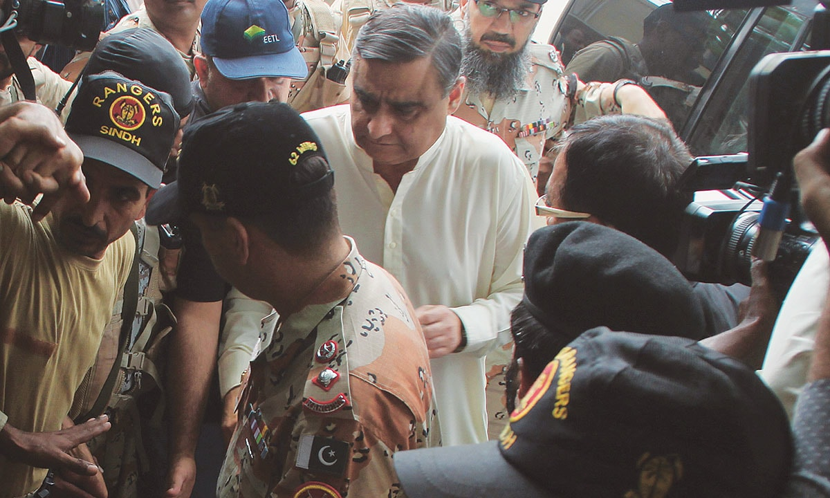 Dr Asim Hussain, chairman of the  Sindh Higher Education Commission, is taken into custody by the Sindh Rangers | White Star