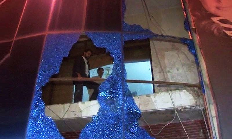 Three injured in grenade attack on DIN News office in Lahore