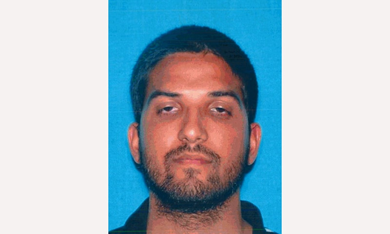 This photo provided by the California Department of Motor Vehicles shows Syed Rizwan Farook who has been named as the shooting suspect in the San Bernardino shootings. — AP
