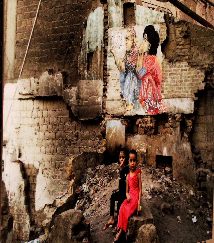 Kids in Lyari. — Photo by Zeresh John