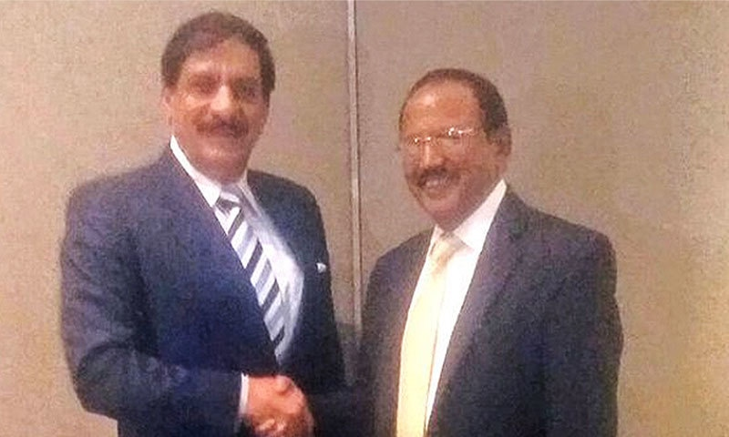 Pakistan, India NSAs hold talks in Bangkok