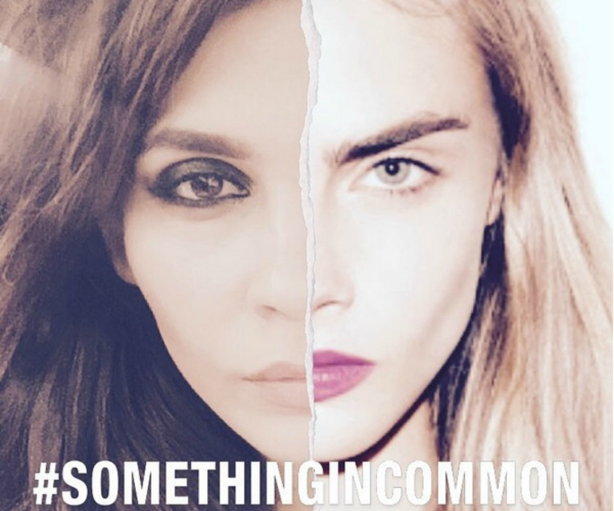Clearly, the two supermodels were separated at birth —Photo courtesy: Amna Babar's Instagram