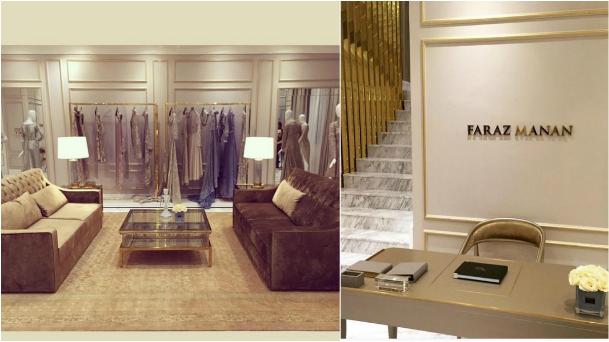 The outlet in the new boutique complex in Dubai on Al Athar Street