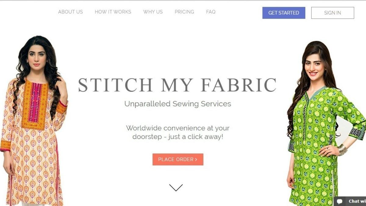 Screenshot of Stitch My Fabric
