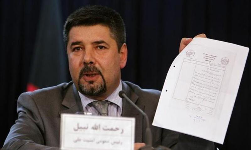Rahmatullah Nabil, head of Afghanistan's National Directorate Of Security (NDS). — Reuters/File