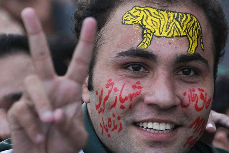 A PML-N supporter.