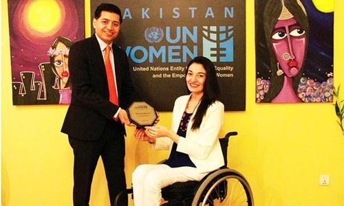 As the goodwill ambassador Muniba will dedicate her efforts towards the empowerment of women and girls. —Photo provided by author