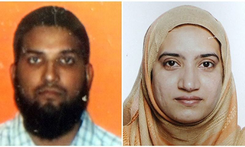 California shooting: IS ignored Tashfeen's contact attempts, say US sources