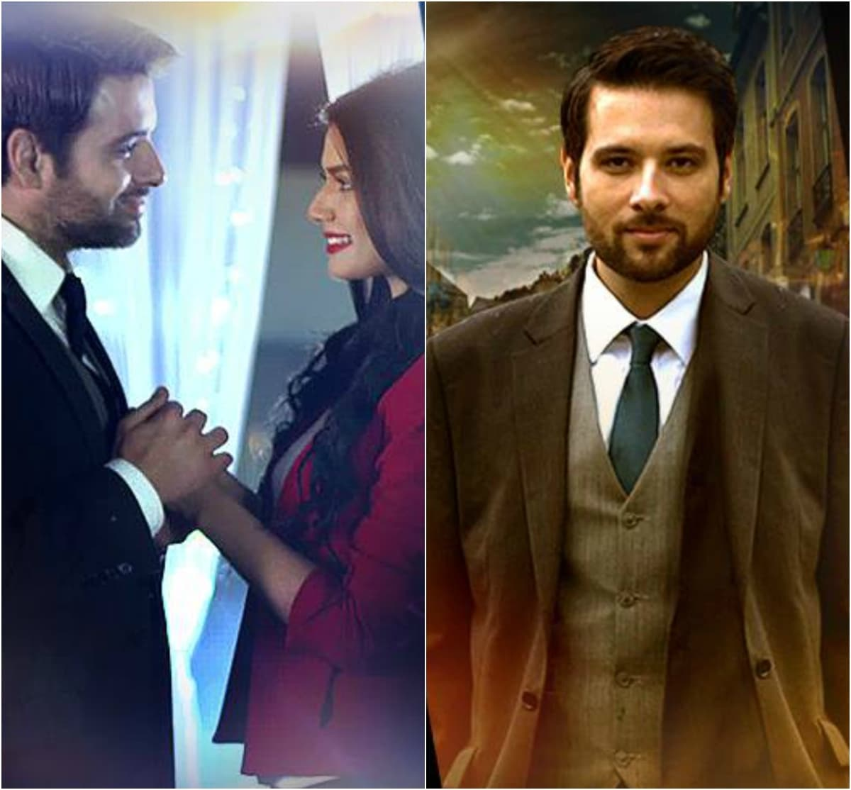 Mikaal as Ahmer looks so dapper it's hard to remember he's in mourning.