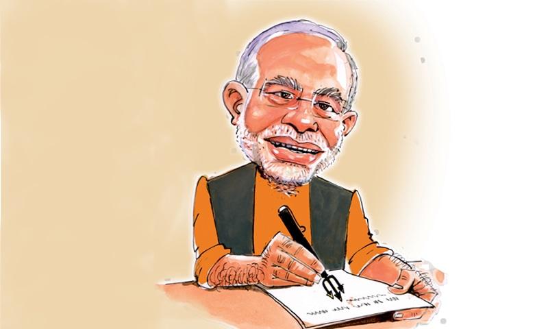 Satire: Diary of Narendra Modi - Herald