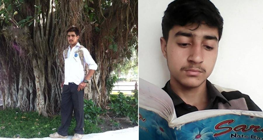 The cowardly terrorists attacked Taimoor from behind, hitting him in the head.
