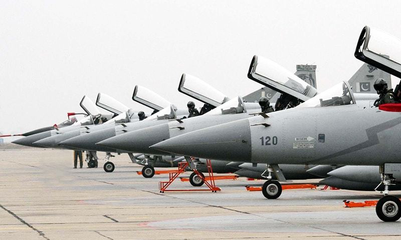 The Joint Fighter-17 (JF-17) Thunder multi-role fighter was jointly developed by China and Pakistan. -PPI/FIle