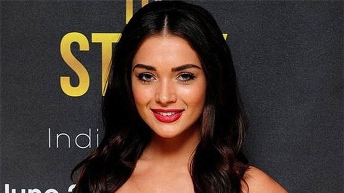 British model Amy Jackson appeared alongside Akshay Kumar in Bollywood movie 'Singh is Bling'.─AFP/File