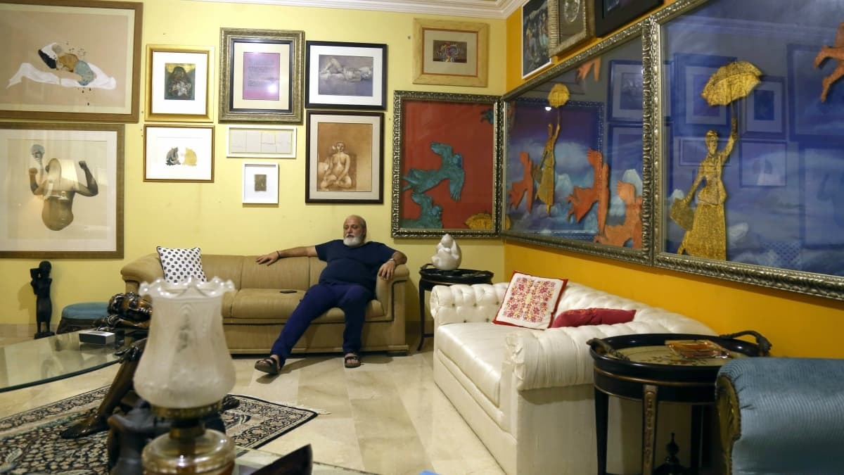 A work of art should speak to you – you have to fall in love with it, says collector Amir Butt