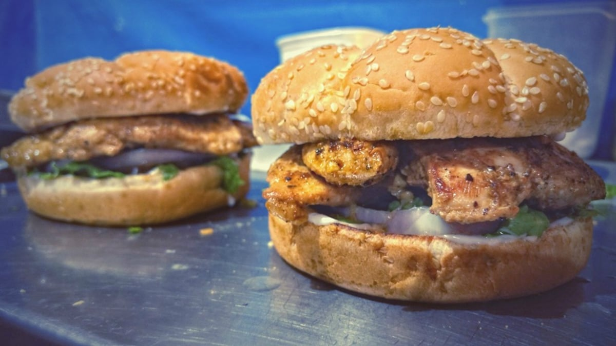 The Big Mommy is THE chicken burger to try at MoB