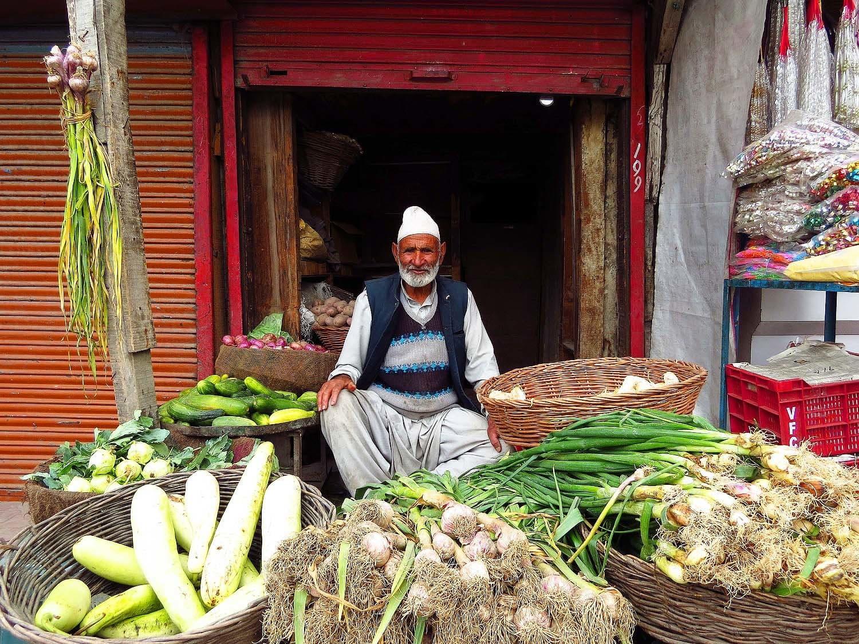 Vendor, Srinagar.