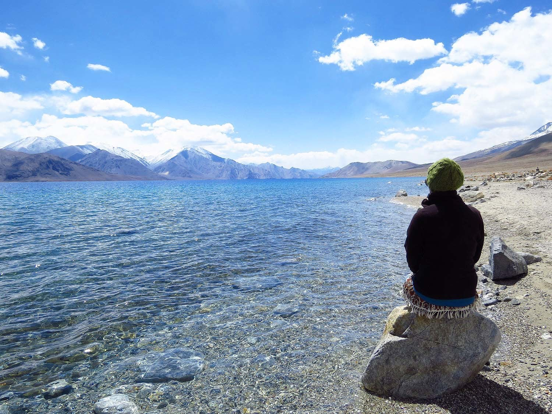 Pangong Lake.