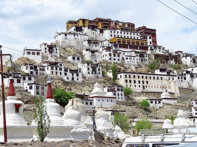 Thiksey Monastery, Ladakh.