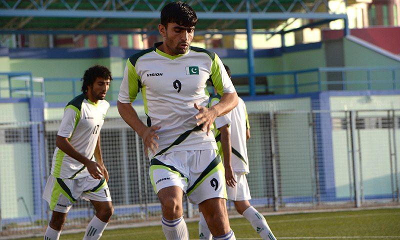 Pakistan end 2015 ranked 184 in the FIFA rankings. — AFP/file