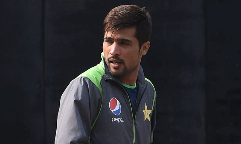 In pictures: Mohammad Amir trains with the Pakistan squad