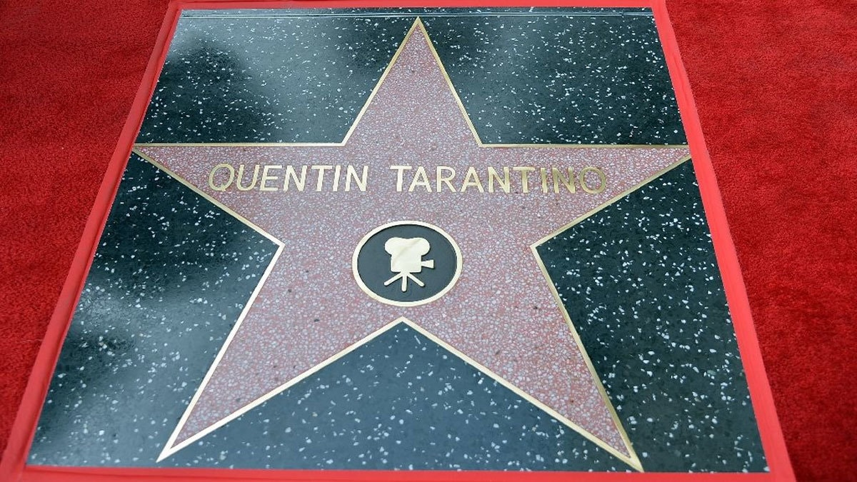 Director Quentin Tarantino's is the name in the newest star on the Hollywood Walk of Fame.─ AFP